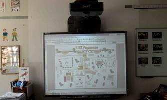 Smartboard im Einsatz